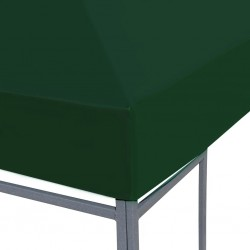 Zielone poszycie pawilonu ogrodowego 3x4