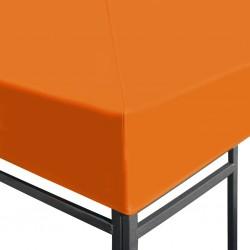 Pomarańczowe poszycie pawilonu ogrodowego 3x4
