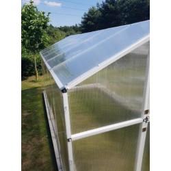 Szklarnia ogrodowa 8 5 m2 PVC ze stali - bok.