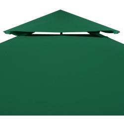 poszycie pawilonu ogrodowego 3x4 zielone
