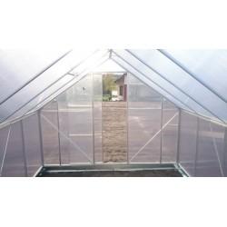 Szklarnia 7 75 m2 z poliwęglanu. 6mm, Plantiflex.