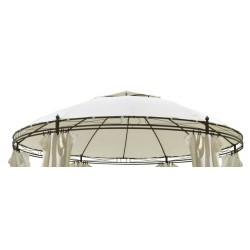Dach 350 cm kremowy